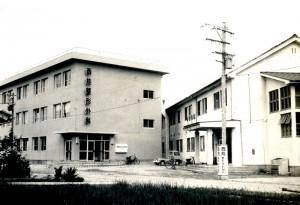 第1期増築工事完成 病院外観写真