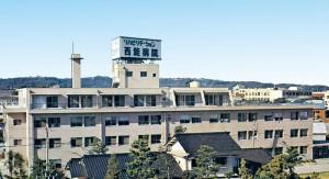 第2期増築工事完成 病院外観写真