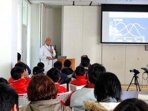 山田医師による講義