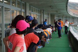 女性ランナーも多数。みんなオシャレです!
