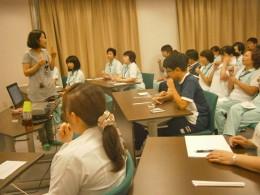 NSTの活動。職員講習会の様子その2